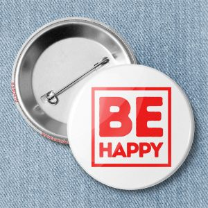 Значок «BE HAPPY» B560470